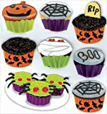 Jolee's Boutique Halloween Cupcakes Dimensional Stickers