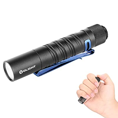 New Olight i5T EOS Tailswitch Flashlight AA 300 Lumens limited release