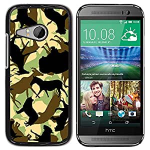 MOBMART Carcasa Funda Case Cover Armor Shell PARA HTC ONE MINI 2 / M8 MINI - Shadow Of Different Animals