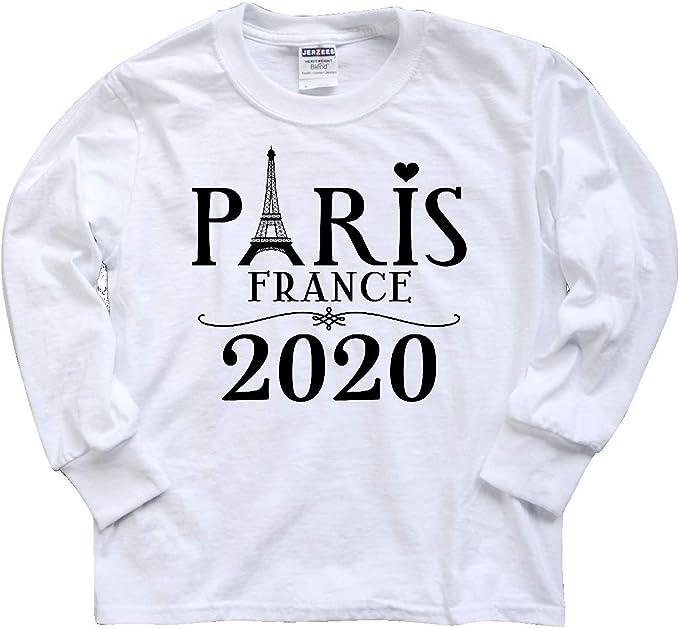 inktastic Paris France 2020 Vacation Toddler T-Shirt