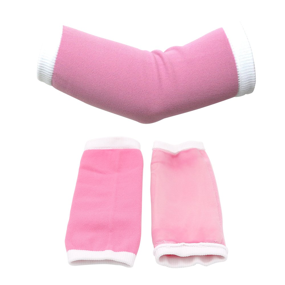 Pinkiou Gel Elbow Moisturizing Sleeves Whitening Cover for Hands and Legs Elbow sleeves