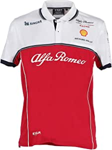 FCA Camiseta Alfa Romeo Racing F1 Polo Tejido técnico Talla S ...