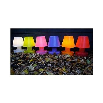Bloom Lampe Portable 28 Cm Sans Fil Amazon Fr Jardin