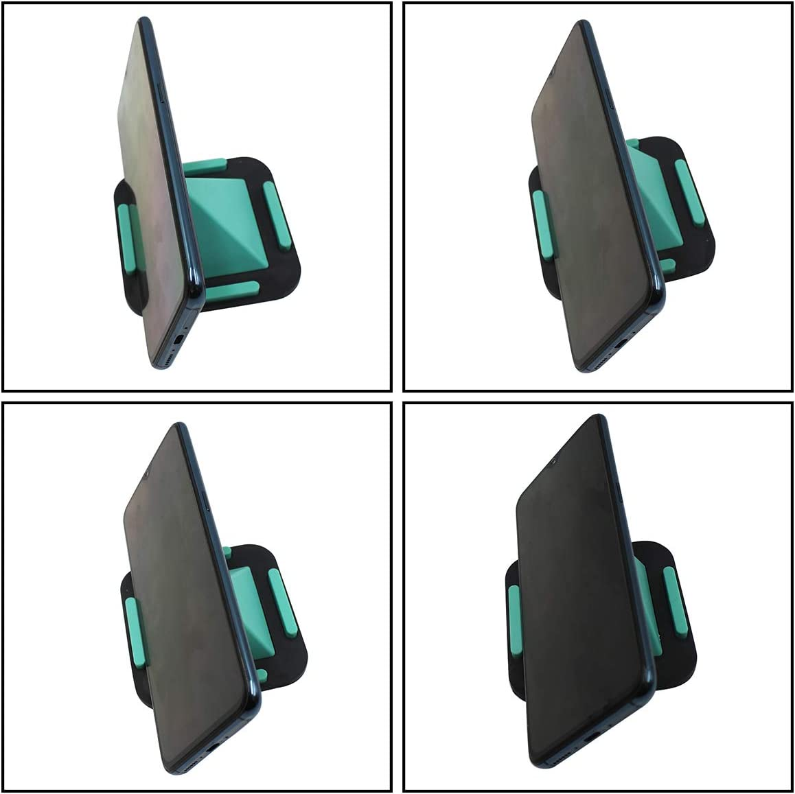 Smart Phone and Most Amamcy Creative Pyramid-Shaped Cell Phone Holder Fours Positions Desktop Stand for iPhone XR//X//6//8//7 Plus,iPad