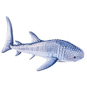 Blue Whale Shark Plush Stuffed Animal Toy 24""