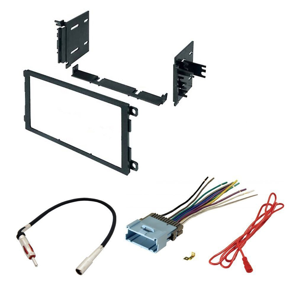 Car Radio Stereo Cd Player Dash Install Mounting Kit Geo Metro Wiring Harness Connector Meanings Buick Cadillac Chevrolet Gmc Hummer Isuzu Oldsmobile Pontiac 2000 2009