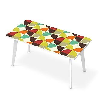 Creatisto Tischfolie Für Tisch 160x80 Cm | Deko Wohnzimmer Tisch Aufkleber  Folie Sticker Möbelfolie Abwaschbar