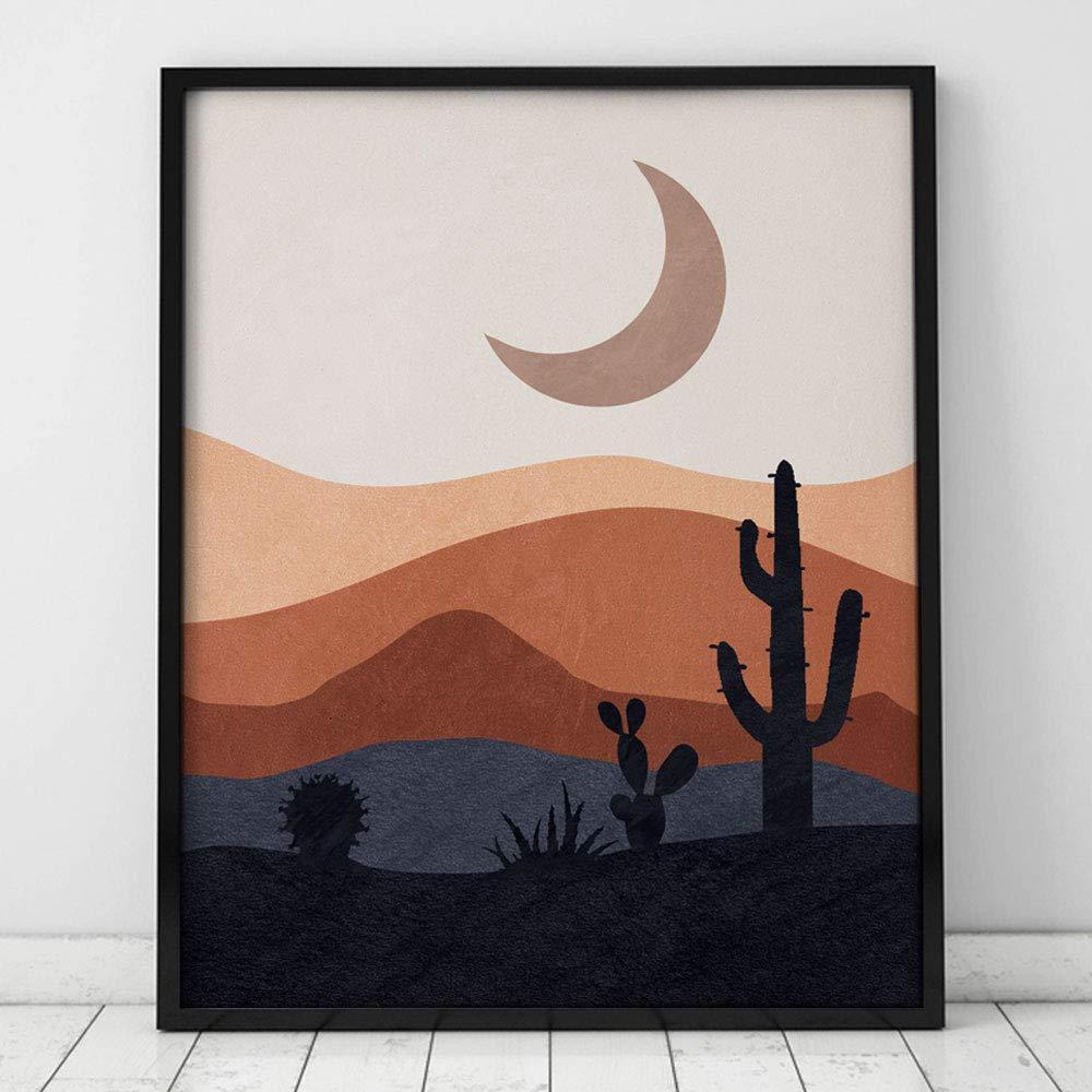Scandi Poster Desert Wall Art Mountain Print Australia Print Mid ...