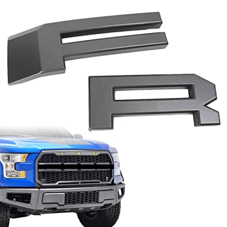 Amazon Com F R Front Grille Letters Fits For 2009 2014 Ford F150 F