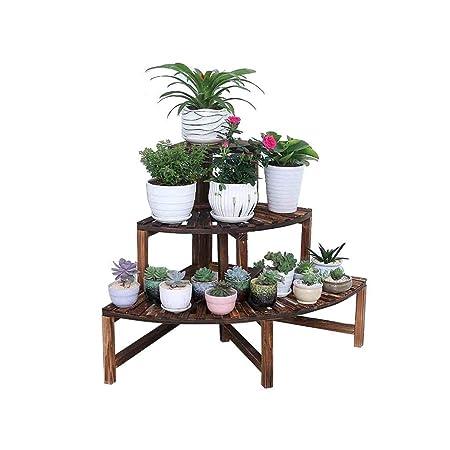 Puesto De Flores,estante de flores Estantes de plantas Escalera de ...