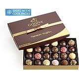 Godiva Chocolatier Assorted Chocolate Truffles Signature Gift Box, 24-Pieces, 16.5 Ounce