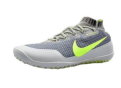 best loved 8cbab 9e2da ... buy nike mens free hyperfeel run trail running shoes light charcoal  volt 8 1cfde c06e8