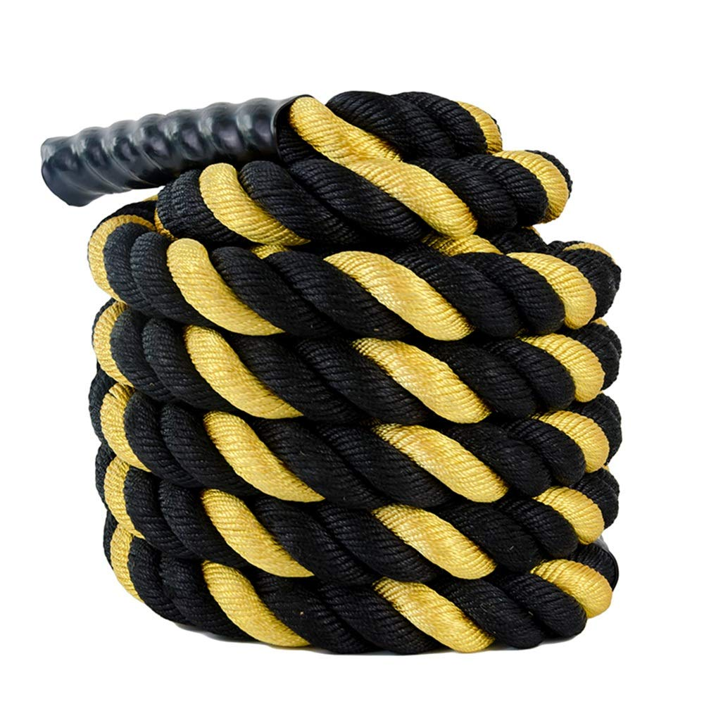 ロープ バトルロープトレーニングロープアームの強度ロープファイティングロープ太いロープのパワーロープ (Size : 1.96inch-12m)  1.96inch-12m