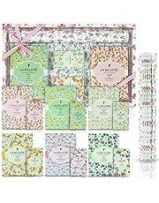 LA BELLEFÉE Bolsitas perfumadas Bolsas y Forros de cajones perfumados para cajones Armarios Armario de la habitación Baños Coches (Paquete de 12 bolsitas perfumadas + Paquete de 5 Bolsas de cajones)