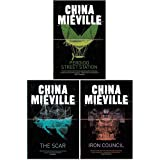 New Crobuzon Series 3 Books Collection Set By China Miéville (Perdido Street Station, The Scar, Iron Council)