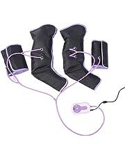 Masajeador de Piernas, 110-240V Masajeador con compression por aire para aliviar la fatiga y mejorar la circulación sanguínea, 9 Modos de Intensidades