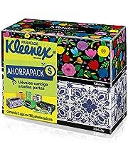 Kleenex Pañuelos Faciales Ahorrapack, Paquete con 2 cajas de 180 piezas c/u de Doble Hoja