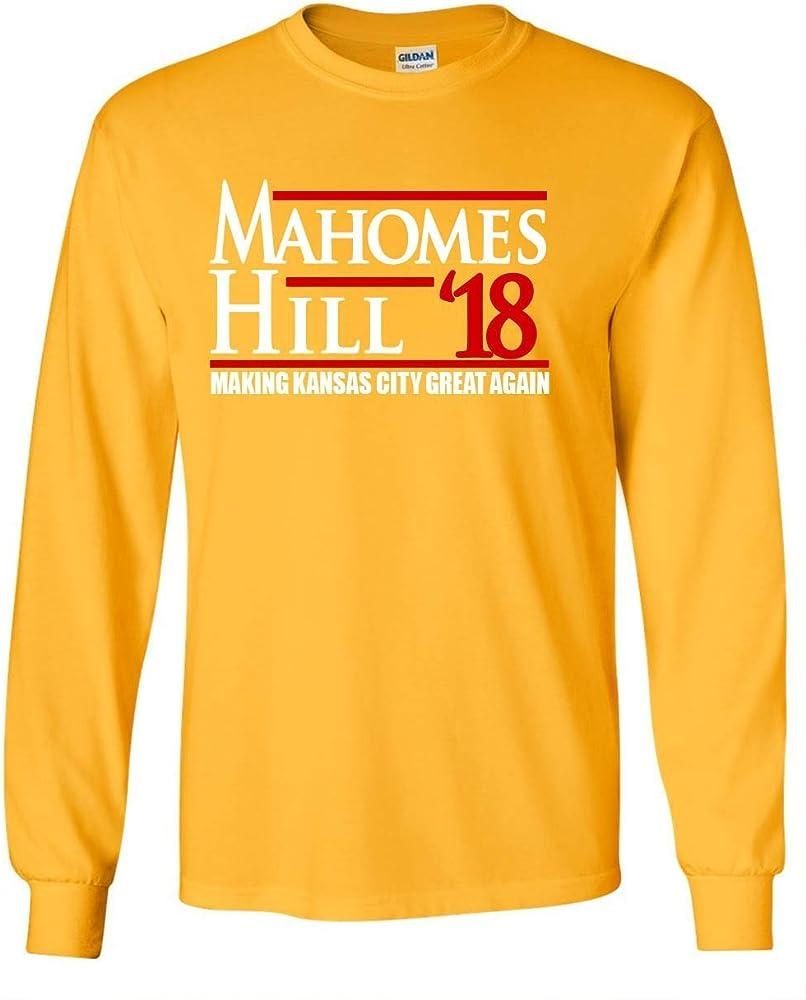 Gold Kansas City Mahomes Iii Hill 18 2022 Shirts
