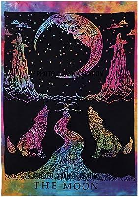 decoraci/ón del hogar hippie mandala de algod/ón p/óster decorativo bohemio p/ícnic playa P/óster de mandala india bohemia hippie hippy para colgar en la pared hippy de algod/ón