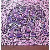 Jaipurhandloom Christmas Gift Indian Elephant Tapestry Mandala Tapestry Hippi...