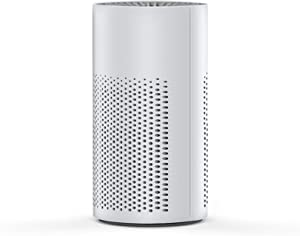 Mini Portable Air Purifier for Home Bedroom, Desktop Air Cleaner with True HEPA Filter, AOPO Small Air Purifier with Low Noise for Allergies, Asthma, Pets, Odors, Smokers, 150+ Sq Ft Coverage, White
