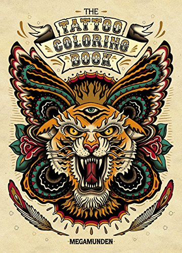 Tattoo Coloring Book cover