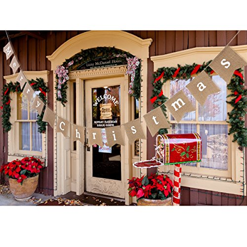 Review Tinksky Merry Christmas Bunting