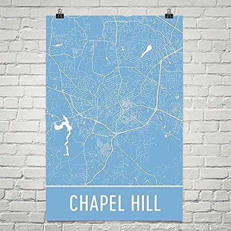 Amazoncom Chapel Hill Poster Chapel Hill Art Print Chapel Hill