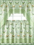Butterfly Bliss Kitchen Curtain – 24″ Tier Pair Review