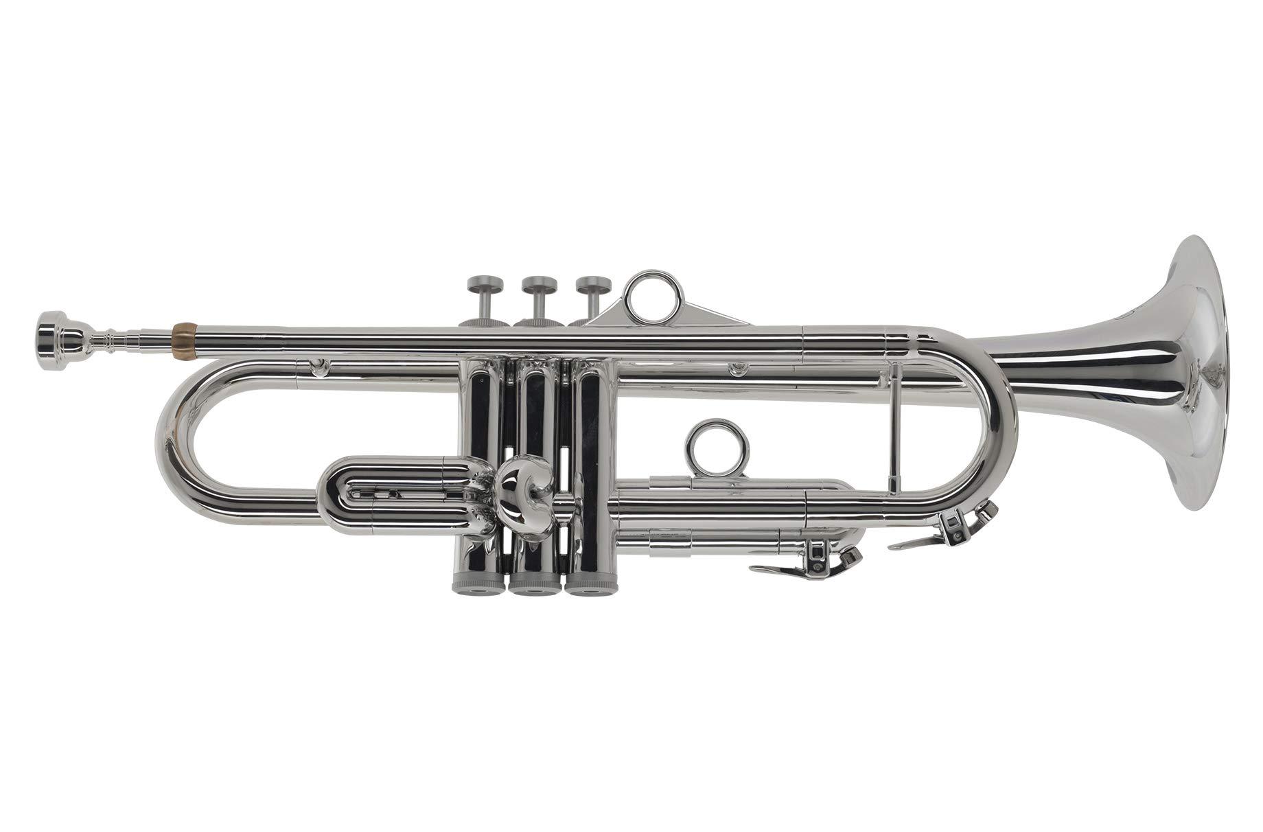 pInstruments Trumpet - Standard (PTRUMPET1HTS/SILVER) by pInstruments