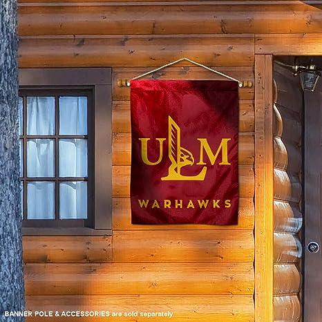 Louisiana Monroe ULM Warhawks NCAA 28 x 40 Inch Vertical Flag