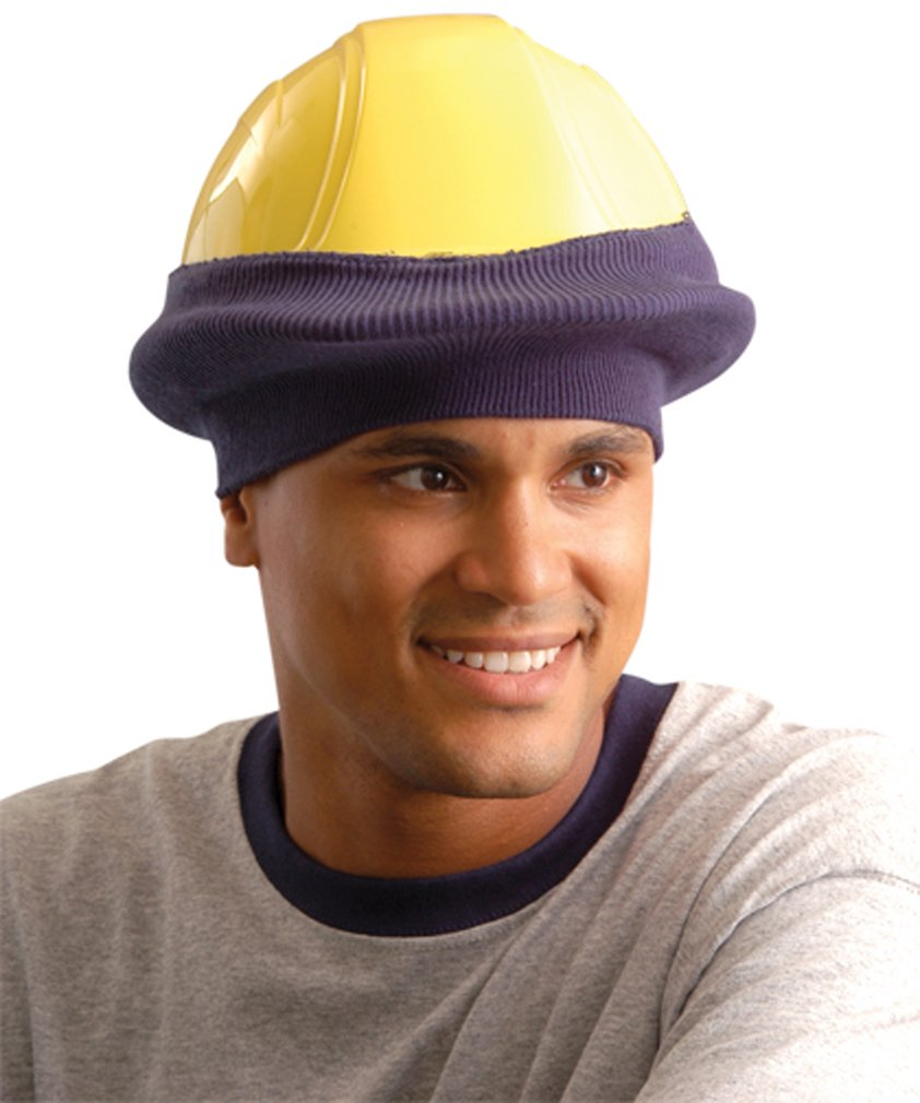 Stay Warm - Classic Hard Hat Tube Liner - One Size Fits All - Hi-Viz Orange-24-PACK