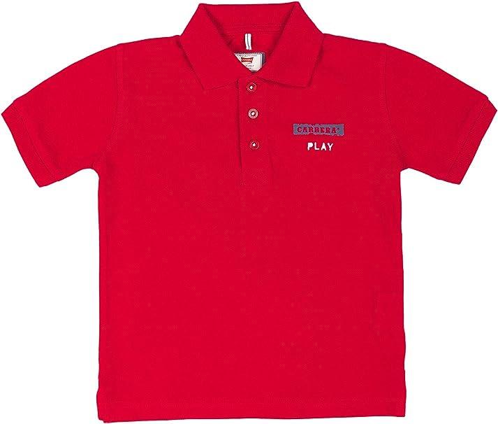 Carrera Jeans - Camiseta Tipo Polo para niño y niña, Color Liso ES ...