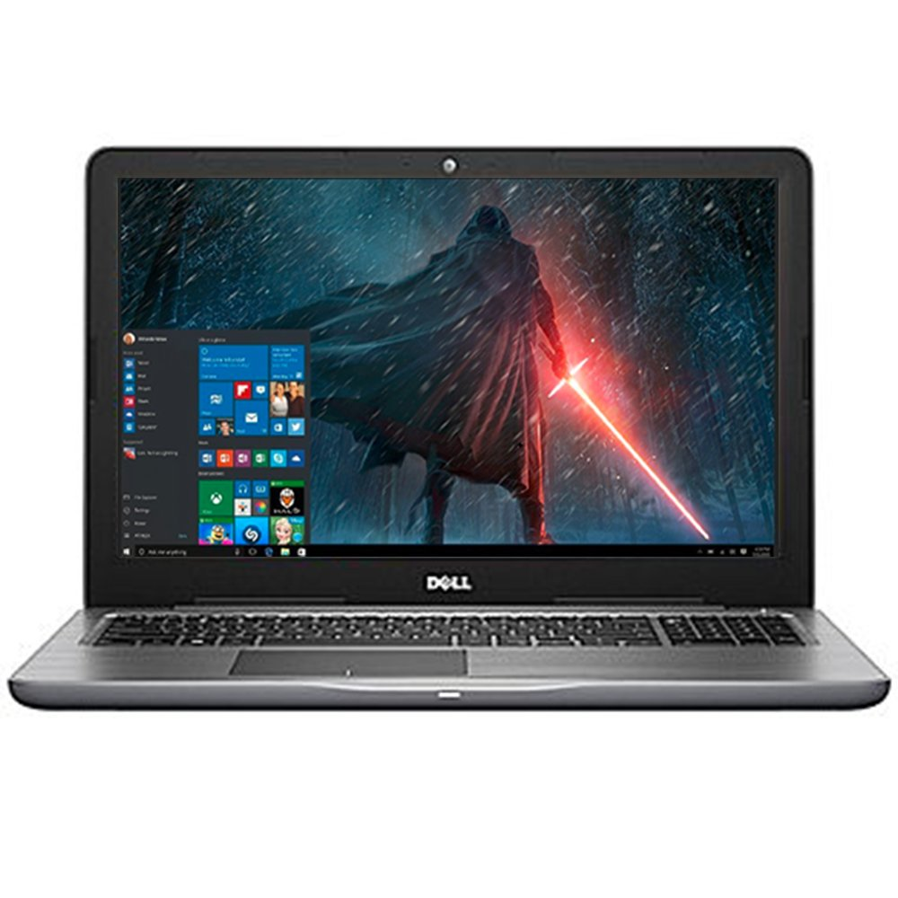 Dell Inspiron 15.6'' LED-Backlit Display Laptop PC Intel i5-7200U Processor 8GB DDR4 RAM 256GB SSD DVD-RW Backlit-keyboard HDMI 802.11ac Webcam Bluetooth Windows 10-Gray by Dell