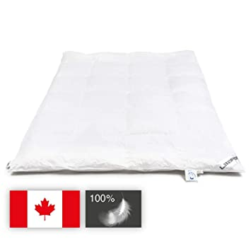 Daunendecke 135x200 Cm Warm 1100g 100 Arktische Kanadische Daunen