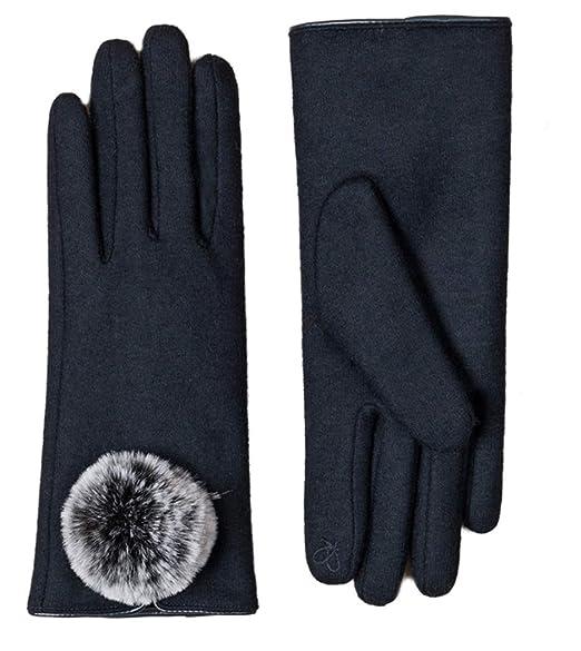 3119cae0a843 Pia Rossini - Gant - Femme Noir Noir taille unique - Bleu - Taille unique   Amazon.fr  Vêtements et accessoires