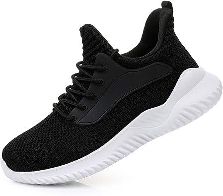 Zapatillas de senderismo para mujer, ligeras, transpirables, de malla, para correr, gimnasio, trabajo, jogging: Amazon.es: Zapatos y complementos