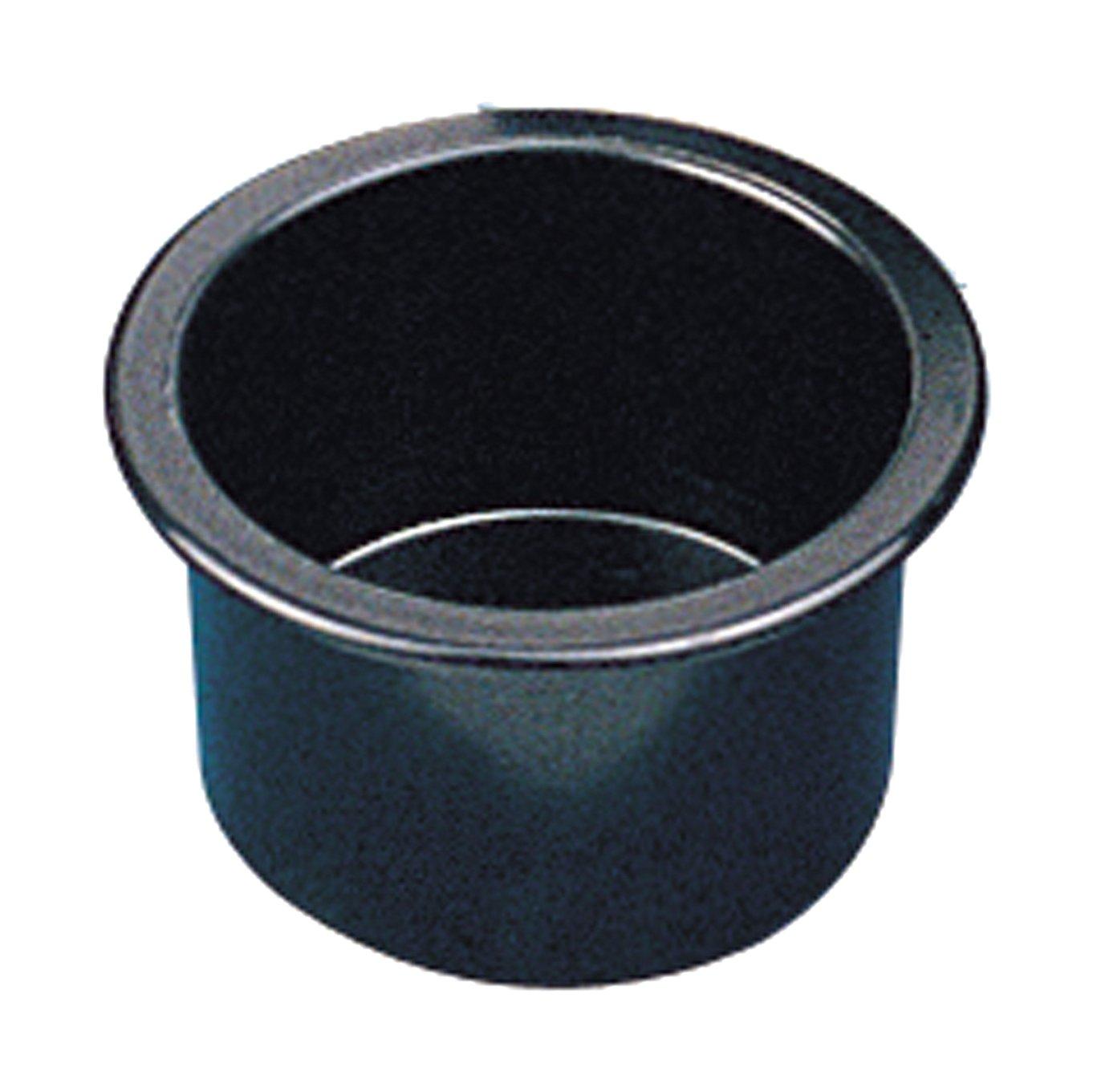Sea-Dog 588010 Flush Mount Drink Holder, 3'' Deep - Black