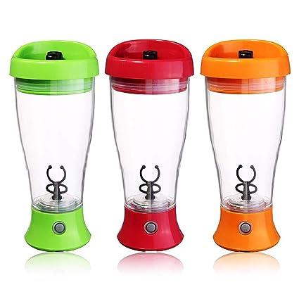 INOVERA (LABEL) Automatic Self Stirring Mug Milk Shaker Coffee Chocolate Mixer Battery Operated, Assorted Colour