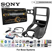 Volunteer Audio Sony WX-920BT Double Din Radio Install Kit with Bluetooth, Pandora, and SiriusXM Ready For 1997-2004 Corvette (With Bose)