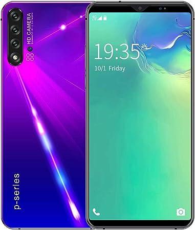 GJRPhone Nowa5 Pro Smartphone 6.1 Android 9.1 HD Cámara Face ID Desbloqueo SIM Dual SIM Dual Standby 8GB + 128GB,Púrpura,AUplug: Amazon.es: Hogar