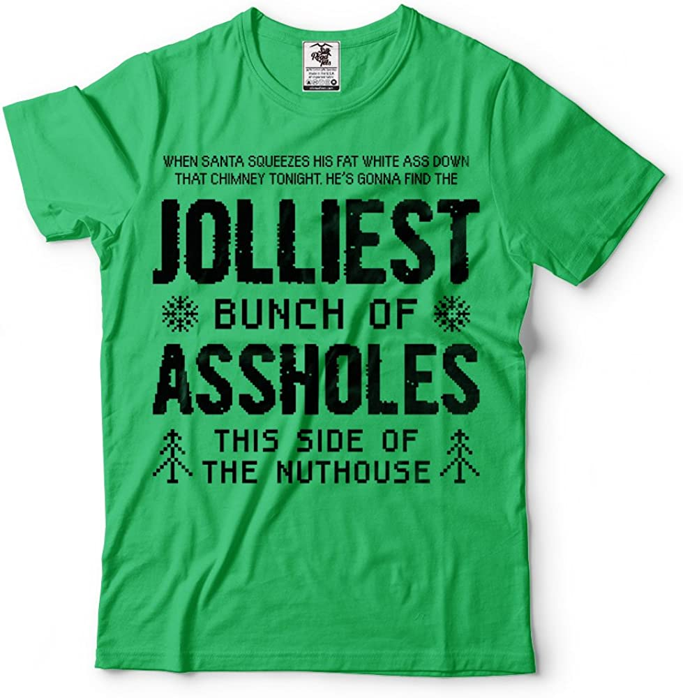 UGP Campus Apparel Jolliest Bunch of A-Holes Funny Movie Winter Adult Basic Cotton T-Shirt