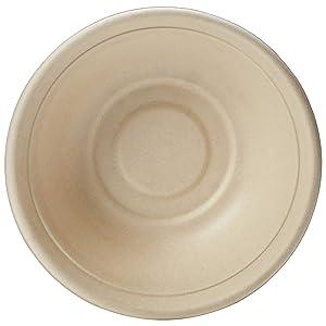 AmazonBasics Compostable 32 oz. Bowl, Kraft, Pack of 50