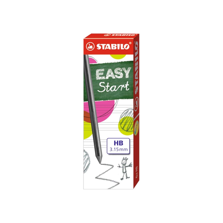 Minas Stabilo EasyErgo 3.15mm 7890/6-HB Refill Leads HB