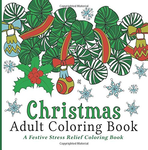 Christmas Adult Coloring Book Festive product image