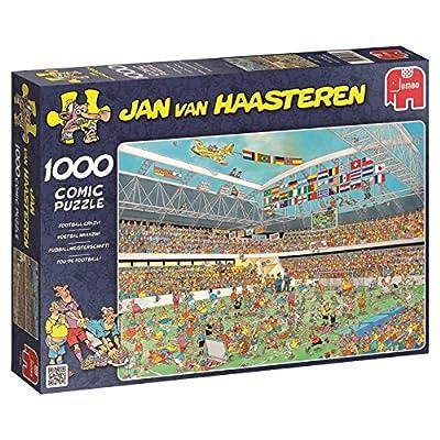 Jumbo 617459 Puzzle Calcio Pazzo