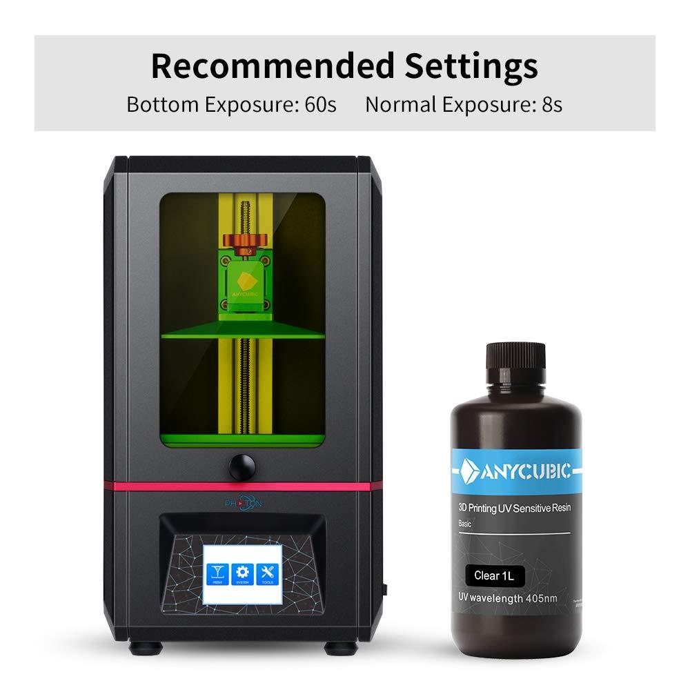 ANYCUBIC LCD UV 405nm - Resina Rápida para Impresora 3D - 500ml ...