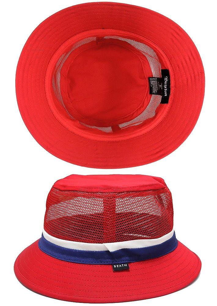 a917635b7556d Amazon   BRIXTON ブリクストン ハット HAT 帽子【HARDY BUCKET HAT】ユニセックス ハット帽 バケットハット  メッシュ アウトドア キャンプ【セール品】   ハット 通販