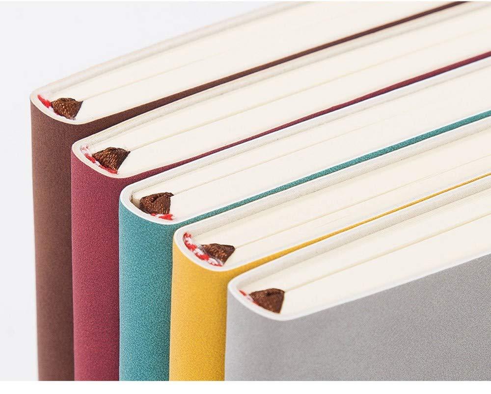 NTCY Cuaderno Cuaderno 192 Páginas Engrosadas Manual Diario Creativo Manual Engrosadas A5 Cuaderno Libro De Mano Retro Trabajo De Oficina Papelería De Aprendizaje,E 35c831