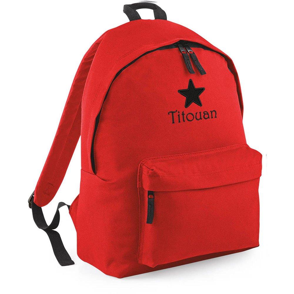 Kariban - Mochila infantil Rojo rojo Dimensions: 28x38x19cm. 14L. Polyester 600